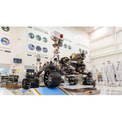 """ABB产品搭载""""毅力号""""火星探测器成功着陆"""